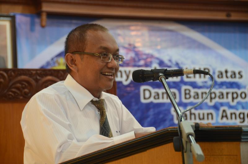 Kepala Perwakilan memberikan kata sambutan dan harapan mengenai pertanggungjawaban Banparpol