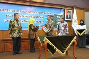 Sertijab Kepala Perwakilan D.I Yogyakarta