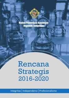 Rencana Strategis BPK 2016-2020